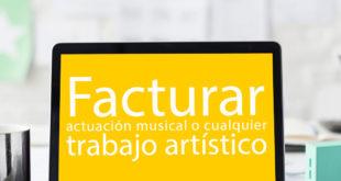facturar actuación musical