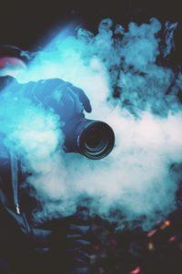 cámara de video profesional