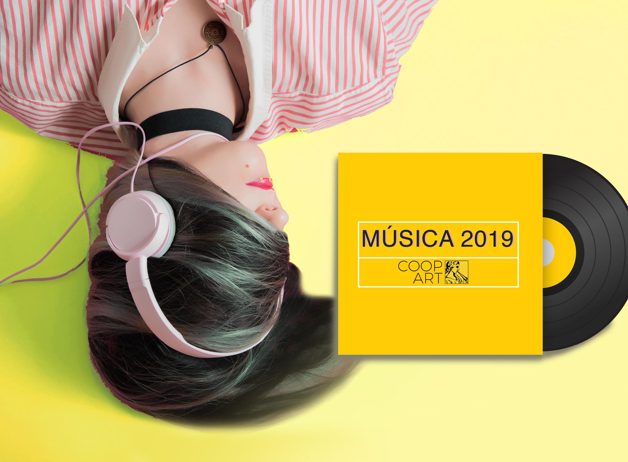 Escucha la mejor música actual 2019 recomendada por CoopArt